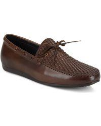 Zanzara - Cezanne Slip-on Leather Boat Shoes - Lyst