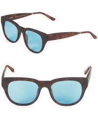 a16c9b099a4 Smoke X Mirrors - Everyday 49mm Square Sunglasses - Lyst