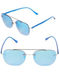 Ray-Ban - 55mm Liteforce Square Sunglasses - Lyst
