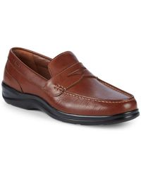 Cole Haan - Santa Barbara Leather Penny Loafers - Lyst