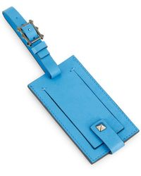 Valentino - Leather Luggage Tag - Lyst