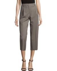 Lafayette 148 New York - Rivington Wide-leg Cropped Pants - Lyst