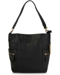 Vince Camuto - Utilitarian Leather Tote Bag - Lyst
