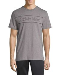 Calvin Klein - Logo Crewneck Tee - Lyst
