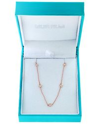 Effy - 14k Rose Gold And Diamonds Necklace - Lyst