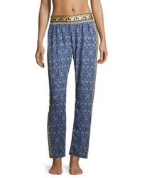 OndadeMar - Zinnia Embroidered Trousers - Lyst