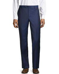 Saks Fifth Avenue - Textured Wool Pants - Lyst