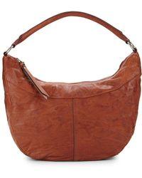 Frye - Veronica Zip Leather Hobo Bag - Lyst