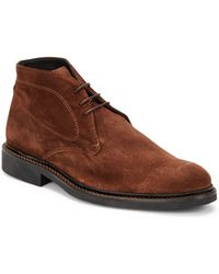 Bugatchi - Italian Suede High-top Sneakers - Lyst