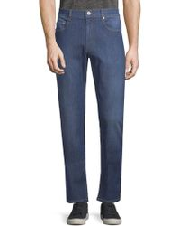 Bugatchi - Faded Stretch Jeans - Lyst