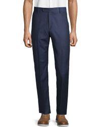 Saks Fifth Avenue - Classic Wool Flannel Pants - Lyst