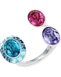 Swarovski - Eminence Crystal Open Ring - Lyst