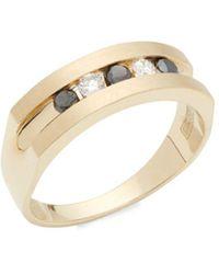 Effy - 14k Yellow Gold & Diamond Ring - Lyst