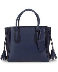 Longchamp - Penelope Leather Tote Bag - Lyst