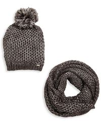Steve Madden - Two-piece Winter Accessory Set - Lyst