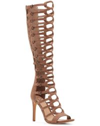 Vince Camuto - Chesta Knee-high Gladiators - Lyst