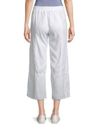 XCVI - Carolina Frayed Trousers - Lyst