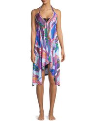 Pilyq - Rion Printed Coverup - Lyst