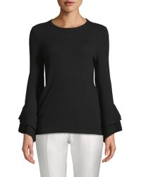 Saks Fifth Avenue - Tiered Bell-sleeve Jumper - Lyst
