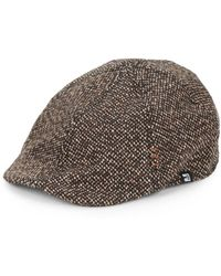 Block Headwear - Tweed Driving Cap - Lyst