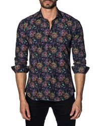 Jared Lang - Multicolored Cotton Button-down Shirt - Lyst
