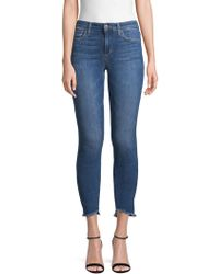 Joe's Jeans - Brianna Skinny Ankle Frayed Jeans - Lyst