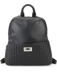 Karl Lagerfeld - Quilted Small Backpack - Lyst