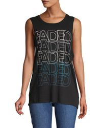 Chaser - Faded Graphic Tee - Lyst