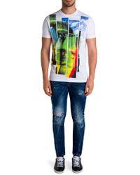 Viktor & Rolf - Distressed Skinny-fit Jeans - Lyst