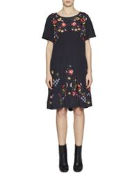 French Connection - Alice Drape Dress - Lyst