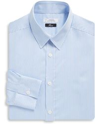 Versace - Fine Stripe Cotton Dress Shirt - Lyst