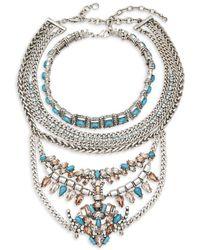 BaubleBar - Xenia Choker & Bib Necklaces - Lyst