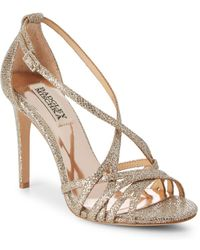 Badgley Mischka - Tiller Crisscross Stiletto Sandals - Lyst