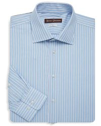 Hickey Freeman - Classic-fit Cotton Dress Shirt - Lyst