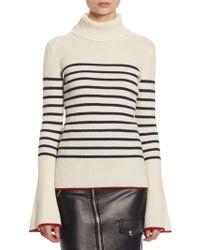 Each x Other - Stripe Turtleneck Sweater - Lyst