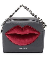 Kendall + Kylie - Lucy Lips Crossbody Bag - Lyst