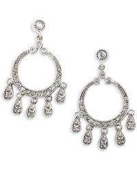 Effy - 0.45 Tcw Diamond & 14k White Gold Chandelier Drop Earrings - Lyst