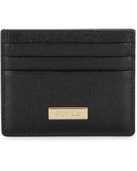 Furla - Logo Leather Card Case - Lyst