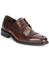Kenneth Cole - Be-leave It Leather Derby Shoes - Lyst