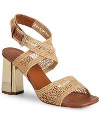 d8c9180b69d3 Lyst - Taryn Rose Makena Block-heel Sandals in Black