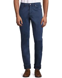 Bugatchi - Five-pocket Stretch-cotton Trousers - Lyst