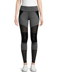 fb391d426f0a1a Electric Yoga The Serena Skirt Overlay Leggings in Black - Lyst