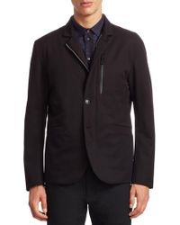Emporio Armani - Water Resistant Jacket - Lyst