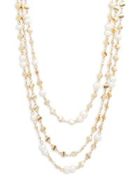 Panacea - Multi-strand Beaded Necklace - Lyst