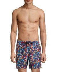 Jared Lang - Camo Print Swim Shorts - Lyst