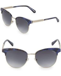 Balmain - Gradient 55mm Clubmaster Sunglasses - Lyst