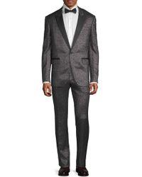 Lanvin - Metallic Notch Lapel Suit - Lyst