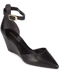 Kenneth Cole - Emery Point Toe Court Shoes - Lyst