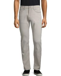PAIGE - Federal Buttoned Jeans - Lyst
