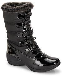 Khombu - Faux Fur Trimmed Boots - Lyst